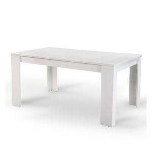 TEMPO KONDELA Tomy jedálenský stôl 140x80 cm biela