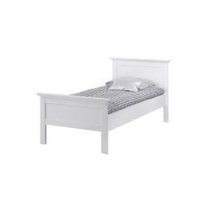 TEMPO KONDELA Paris 77801 90 jednolôžková posteľ biela