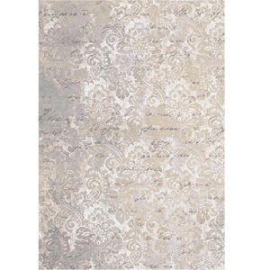 TEMPO KONDELA Balin koberec 80x200 cm béžová / vzor