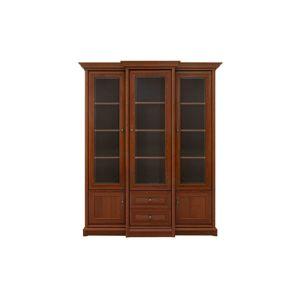 BLACK RED WHITE Kent EREG3W2S rustikálna vitrína gaštan