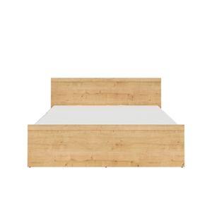 BLACK RED WHITE Porto LOZ/160 manželská posteľ dub burlington allover