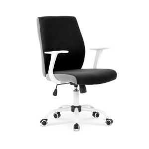 HALMAR Combo kancelárska stolička s podrúčkami čierna / sivá
