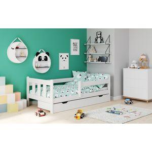 HALMAR Marinella 90 drevená posteľ s prísteľkou biela