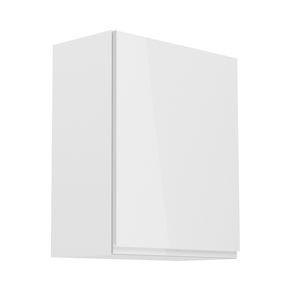 TEMPO KONDELA Aurora G601F P horná kuchynská skrinka biela / biely lesk