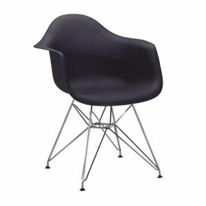 TEMPO KONDELA Feman 3 New jedálenská stolička čierna / chróm