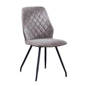 TEMPO KONDELA Herda jedálenská stolička sivá