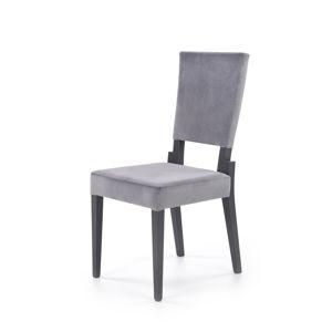 HALMAR Sorbus jedálenská stolička grafit / sivá