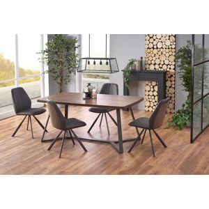 HALMAR Caruzzo jedálenský stôl dub orechový / grafit