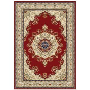 TEMPO KONDELA Kendra Typ 3 koberec 133x190 cm vínovočervená / orientálny vzor