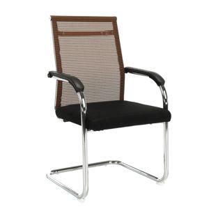TEMPO KONDELA Esin konferenčná stolička hnedá / čierna