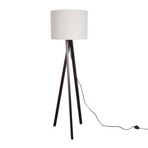 TEMPO KONDELA Lila Typ 9 stojacia lampa biela / čierna