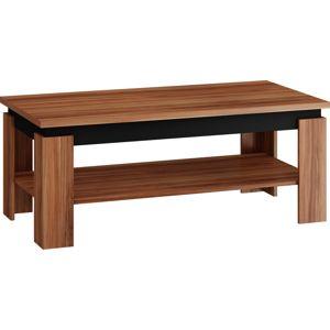 MEBLOCROSS Beta konferenčný stolík slivka / čierna