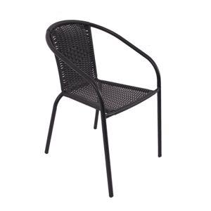NABBI Herkules II záhradná stolička čierna