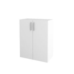 NABBI Jonson SU-600/768-2D policová dvojdverová skrinka biela
