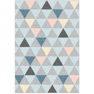 TEMPO KONDELA Petal koberec 100x150 cm kombinácia farieb