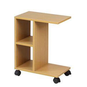 TEMPO KONDELA Abbas New príručný stolík na kolieskach borovica