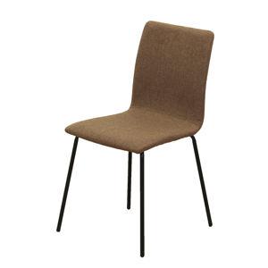 TEMPO KONDELA Renita jedálenská stolička hnedá / čierna
