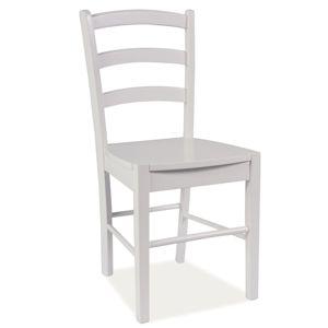 SIGNAL CD-38 jedálenská stolička biela