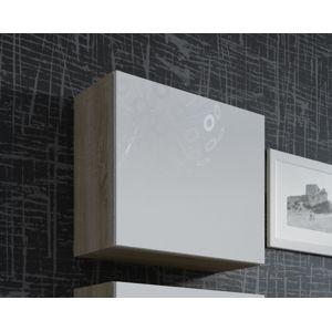 CAMA MEBLE Vigo 50 skrinka na stenu dub sonoma / biely lesk