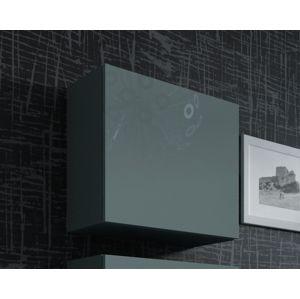 CAMA MEBLE Vigo 50 skrinka na stenu sivá / sivý lesk