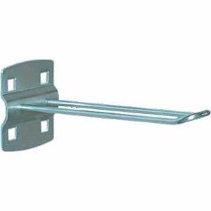 NABBI UW160 pozinkovaný háčik k nadstavbe pracovného stola strieborná